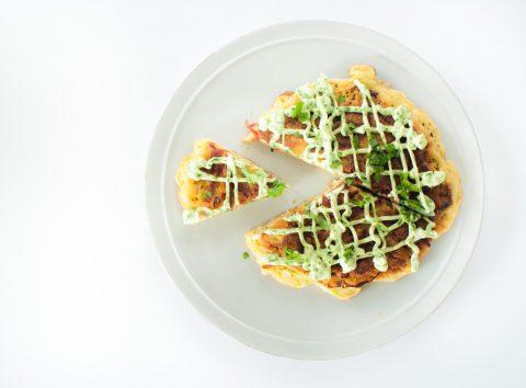 Pepperoni Okonomiyaki
